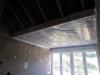 Schlafzimmer, schon teilweise mit Dampfbremse. 7.10.2012