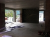 Rohbauphase: Wohnzimmer inkl. Erker.