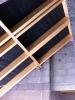 Rohbauphase: Wechsel für Dachflächenfenster im Treppenhaus.