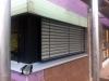Küchenfenster, Jalousienprobefahrt. 7.10.2011, 17:00 Uhr