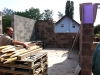 Blick aus dem Essbereich Richtung Küche. 26.5.2011, 10:00 Uhr