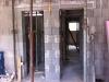 Blick aus der Einliegerwohnung zum Bad und Durchgang zum Treppenhaus. 26.5.2011, 10:15 Uhr
