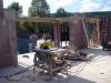 Blick aus dem Küchenbereich Richtung Wohnzimmer / Erker. 30.5.2011, 17:00 Uhr
