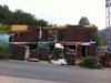 Patschnasse Hütte. 6.6.2011, 17:30 Uhr