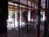 Blick aus der Küche Richtung Erker. 6.6.2011, 17:30 Uhr