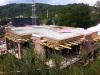 Deckenplatten verlegt, aber noch nicht geschalt. 7.6.2011, 17:00 Uhr
