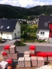 Material fürs Dacjgeschoss. 21.6.2011, 17:00 Uhr
