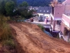 Fast freier Blick auf die Terrasse. 5.7.2011, 7:30 Uhr