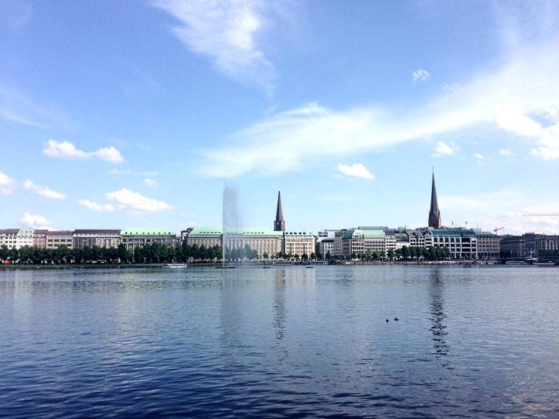 Hamburg, mal wieder meine Perle!